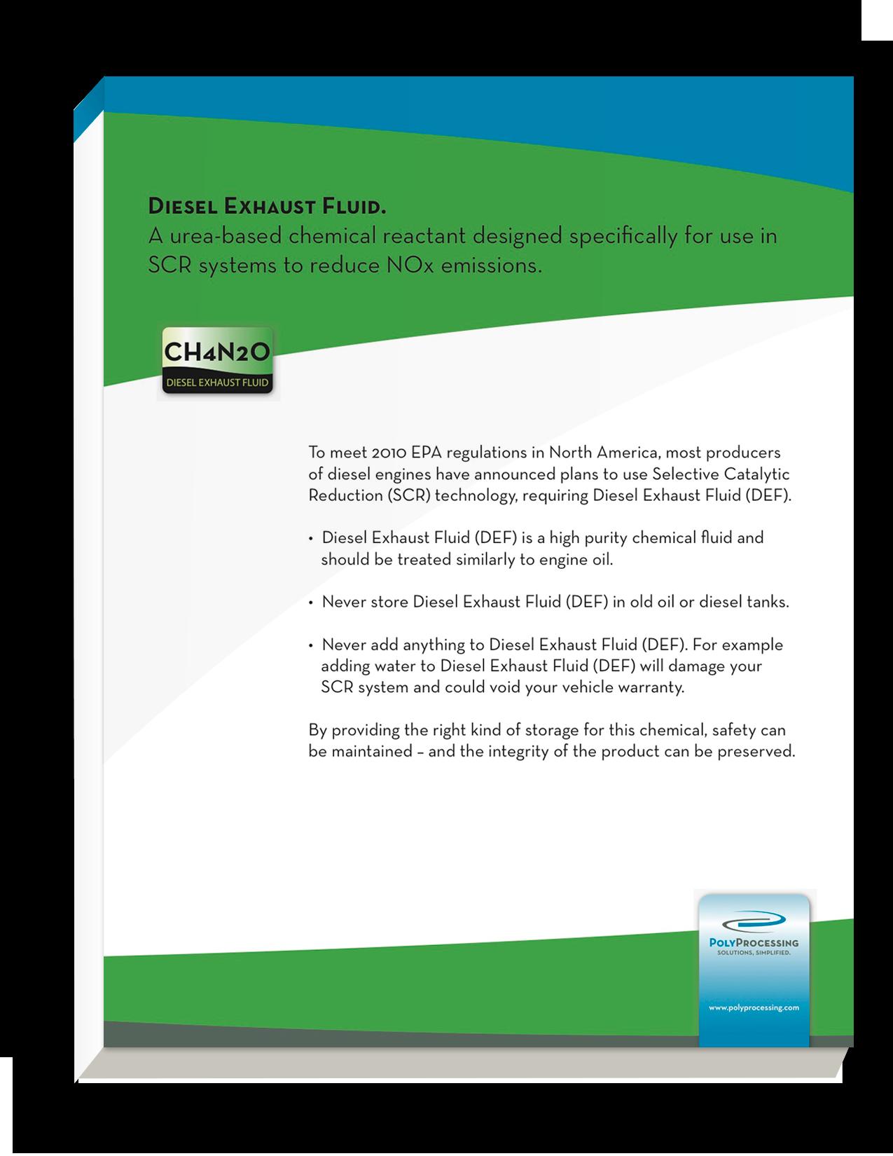 Diesel Exhaust Fluid Guide