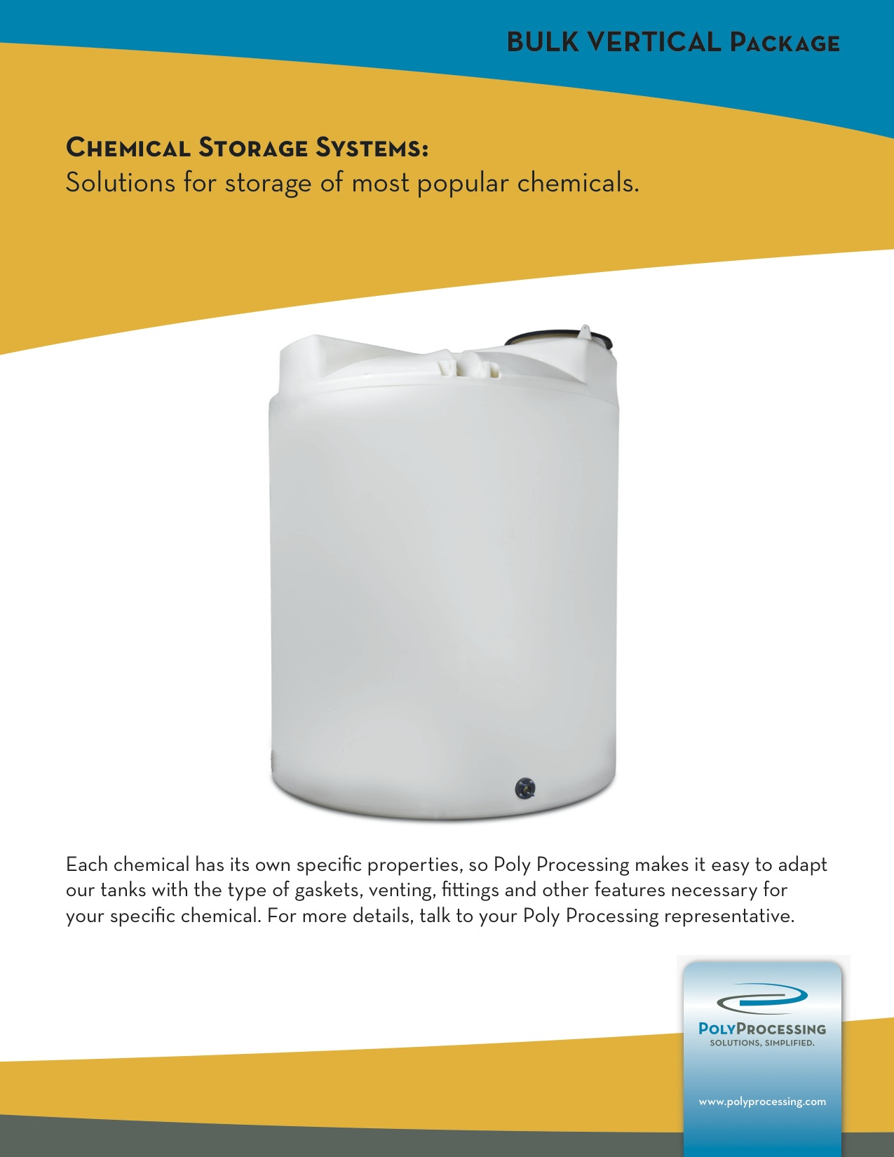 Bulk Vertical Tanks Guide